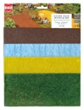 Busch - Láminas de vegetación para maquetas, hierba, trigo y mar , Modelos/colores...