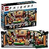 LEGO 21319 Ideas Central Perk, Cafetería de Serie Friends con Mini Figuras, Maqueta para...