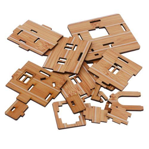 casas de madera maquetas