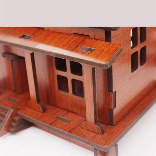 casitas de madera maquetas