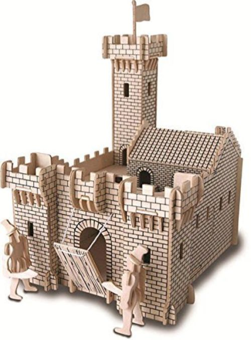 castillo medieval maqueta