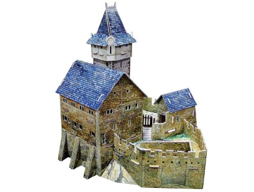 castillos de la edad media maquetas