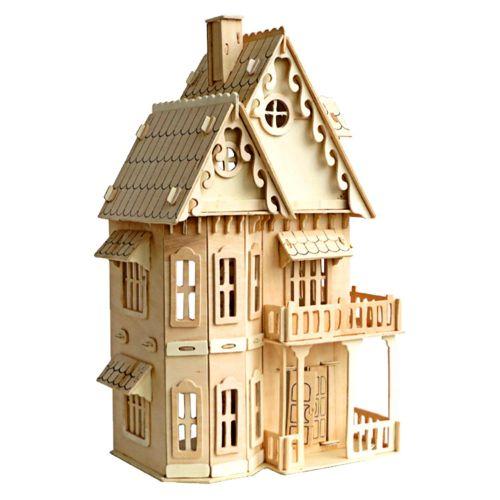 como aser una maqueta de una casa de madera