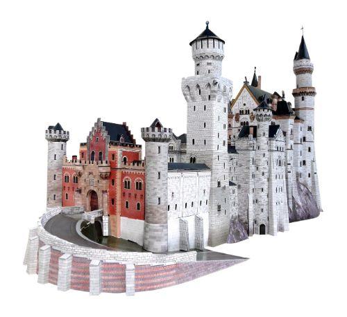 como hacer maquetas de castillos de madera