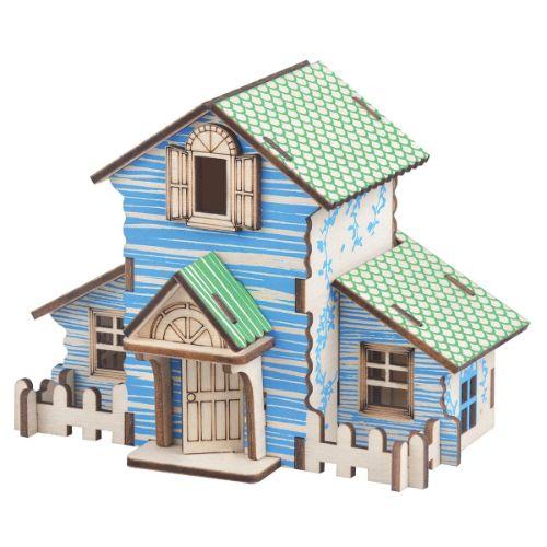 maquetas de casas de madera balsa