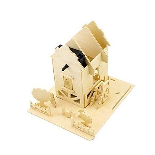 maquetas de casas en madera