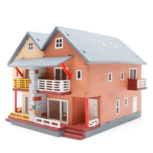 maquetas de casas madera