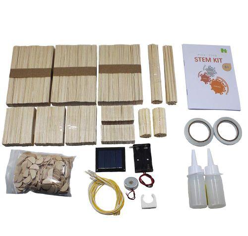 maquetas de madera casas