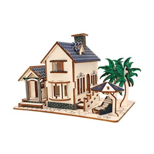 maquetas de madera en casas