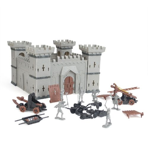 maquetas de piedra castillos