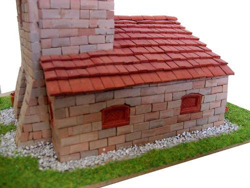 casas de ladrillos maquetas