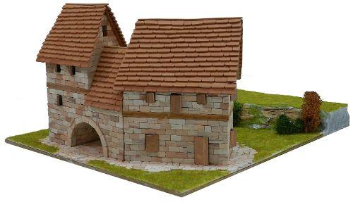 maquetas casas de ladrillos