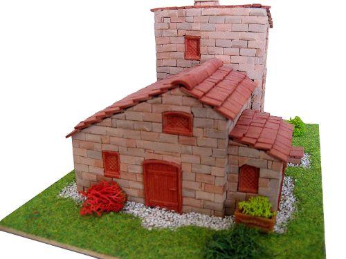 maquetas de casas ladrillos