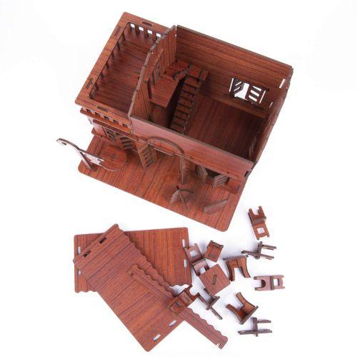maquetas de casas materiales