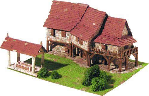 maquetas de casas simples