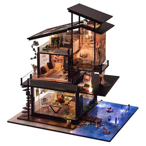 maquetas casas modernas
