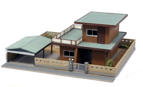 maquetas de casas de 2 pisos por dentro modernas