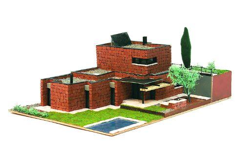 maquetas de casas modernas de 1 piso