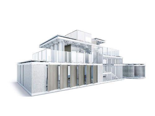 maquetas de casas modernas paso a paso