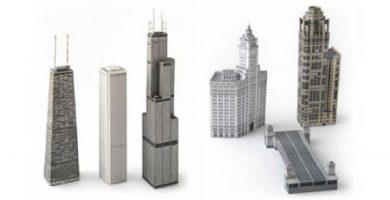 maquetas edificios