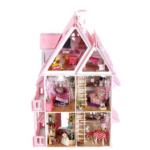 como hacer casas de muñecas