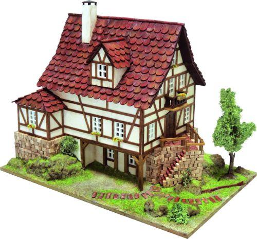 como hacer maquetas de casas de piedra