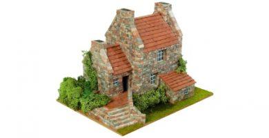 maquetas de casas de campo