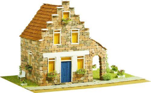 maquetas de casas de piedra