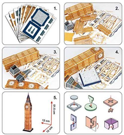 maquetas de edificios de papel