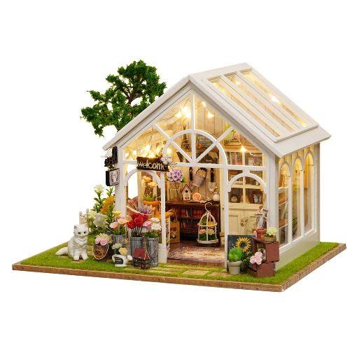 como hacer maquetas de casas de ladrillos