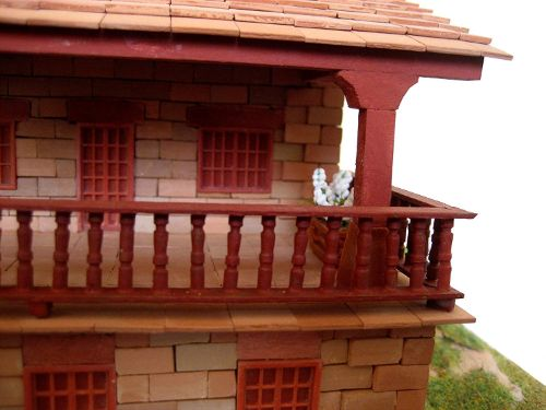 maquetas de casas de piedra amazon