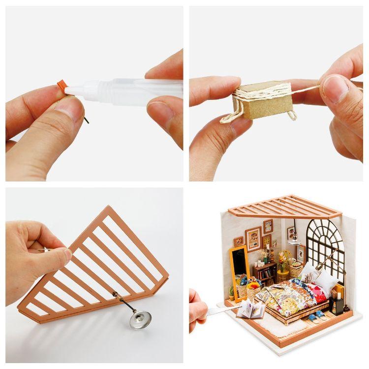 maquetas de casas de madera para construir