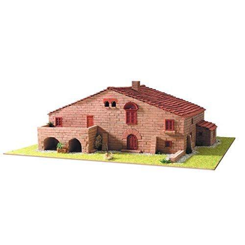 casas en miniatura de madera