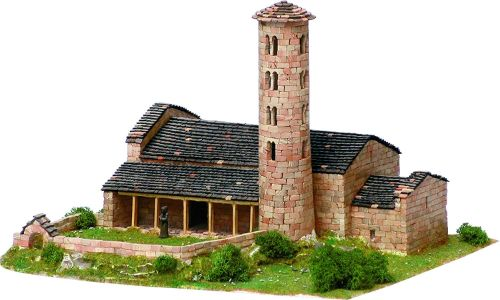 maquetas iglesias romanicas