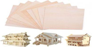 madera para maquetas de casas
