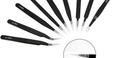 pinzas de precisión con cortador integrado