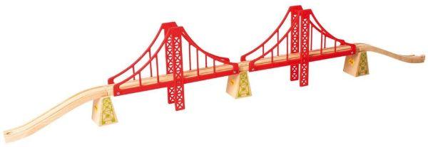 maquetas de puentes con palitos de madera