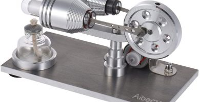 maqueta motor stirling