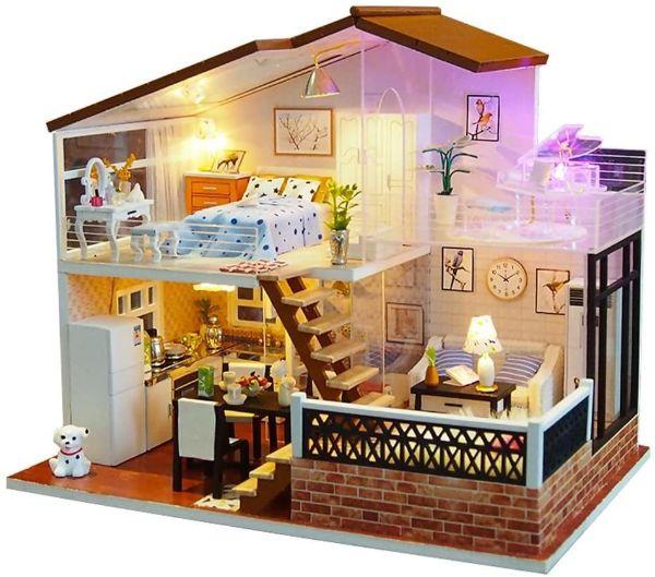 miniaturas casas de muñecas
